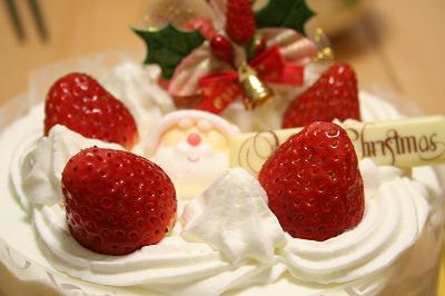 クリスマスのケーキだよん★