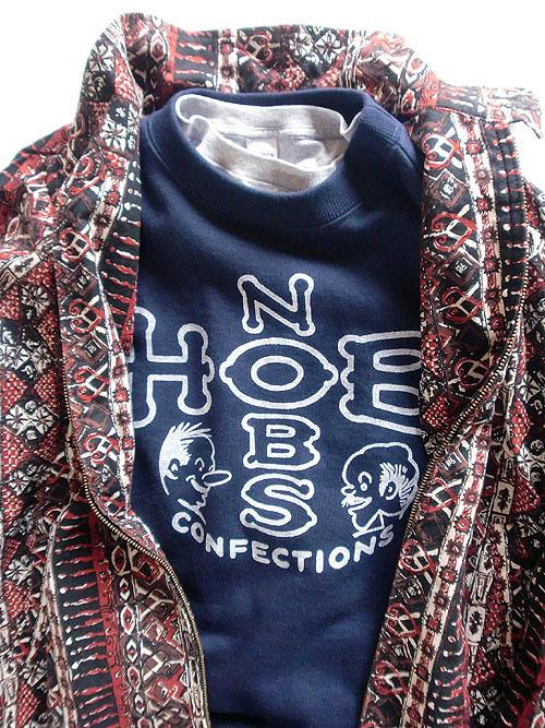 hob & nobs set up