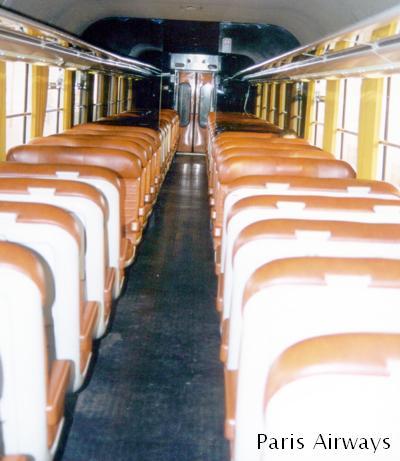 フランス国鉄 2等車