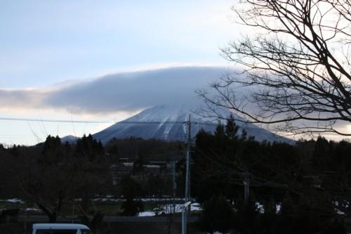 旬香窓からの大山