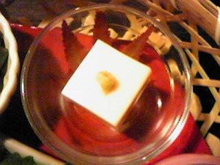 090927胡麻豆腐・お膳