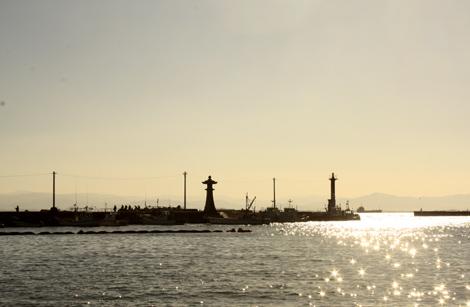 港町の風景