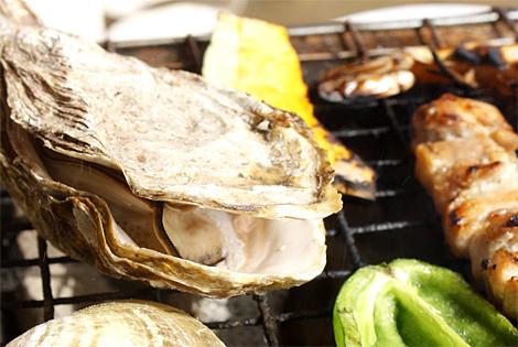 焼き焼き海産物