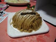 クリスマスデコレーションケーキ第一弾