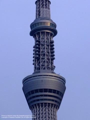 東京スカイツリー第一・第二展望台