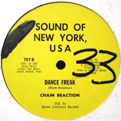 CHAIN REACTION / DANCE FREAK
