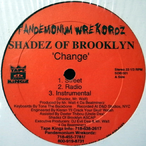 Cover Shades of Brooklyn - Change