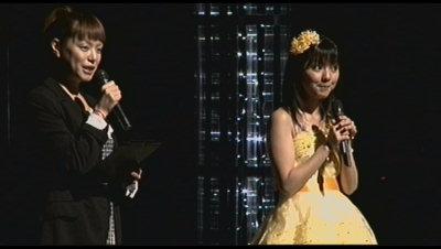 真野恵里ちゃんと紀子先輩。
