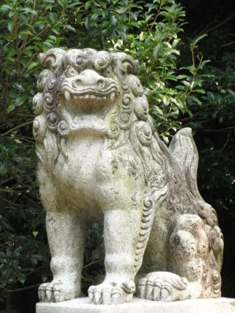 許斐神社1