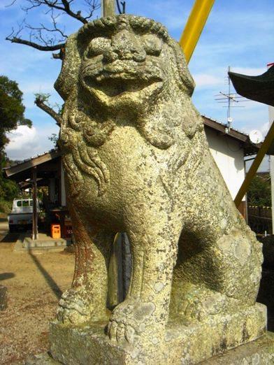 吉部田八幡宮1