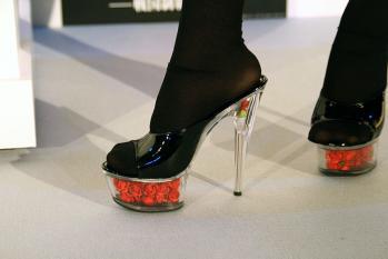 バラinガラスの靴