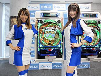「CRジュラシックパークMAX2」プレス発表会