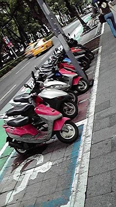 台北バイク