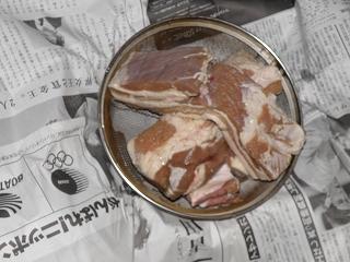 肉の水切り