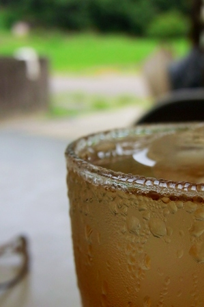 110704 麦茶。