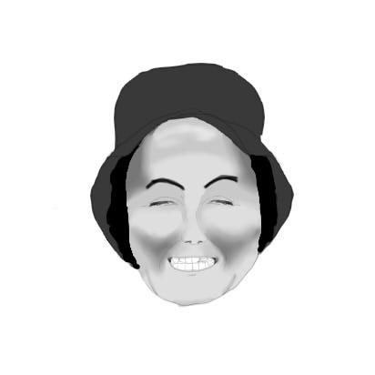 お祖母ちゃんの顔