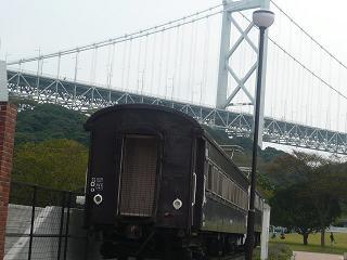 関門海峡めかり駅前