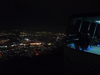 スロープカーと夜景