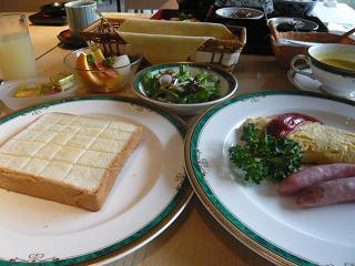 ホテル朝・洋食