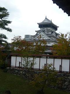 小倉城庭園からの眺め2