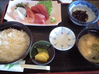 榊屋 定食