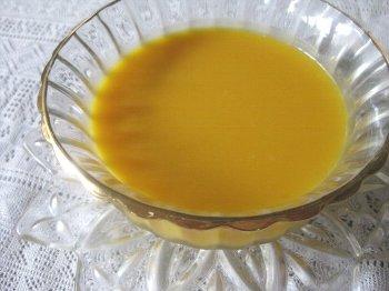 冷製カボチャスープ