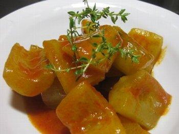 きゅうりのトマト煮