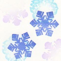 雪の結晶09色見本