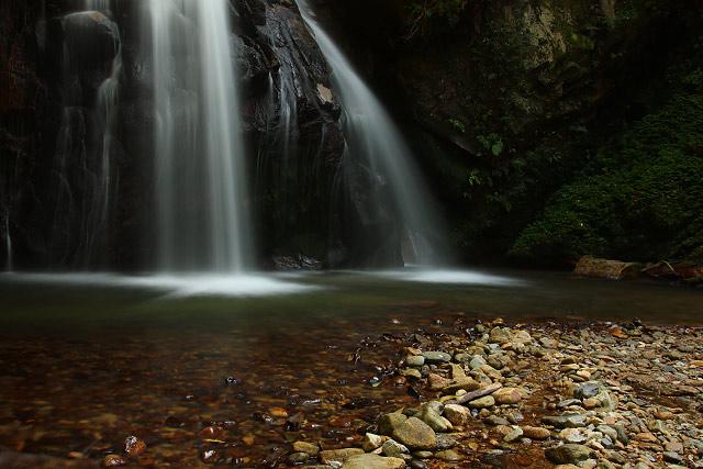 鳥取県東伯郡三朝町~馬場の滝