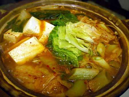 辛口キムチ鍋