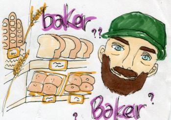 パン屋のベイカー