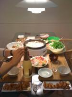 自宅鍋料理