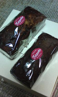 フルーツ&チョコケーキ
