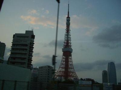 夜の 東京タワー