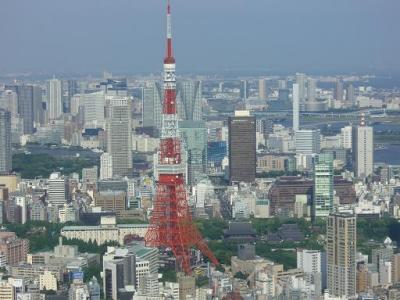 ヒルズから 東京タワー