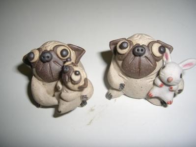 パグ 陶器