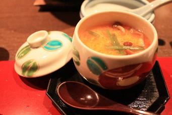 百楽荘茶碗蒸し