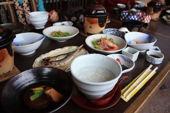 百楽荘朝食