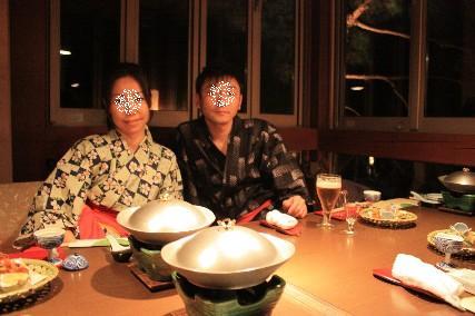 夕食ゆかた