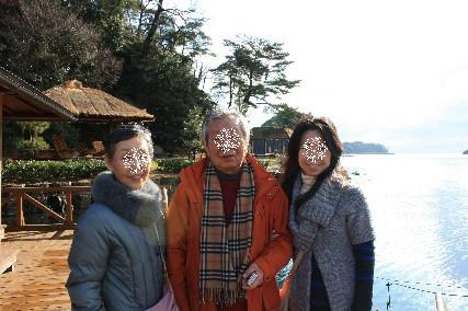 百楽荘親子写真