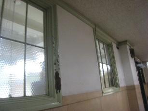 大阪府庁窓ガラス