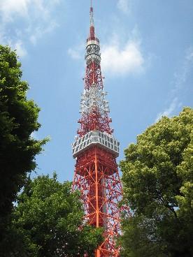 東京タワーお昼