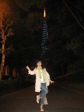 東京タワー夜マキ