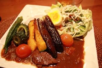 カフェ夏野菜カレー