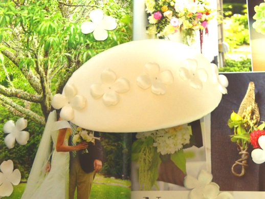 Flower Hat Wedding Bonnet