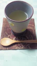 金柑はちみつ茶