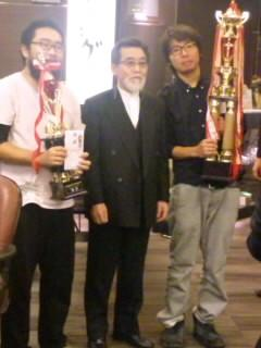 優勝関西学生代表(ポッチ)