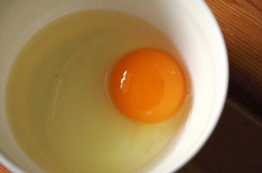 大地農場の生卵