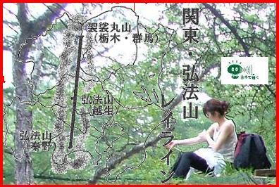 弘法大師の関東レイラインと骨伝導