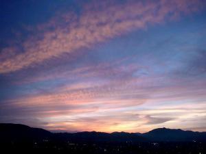 20110615夕焼け